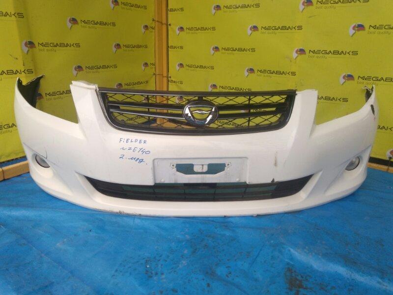 Бампер Toyota Corolla Fielder NZE141 передний II MODEL (б/у)