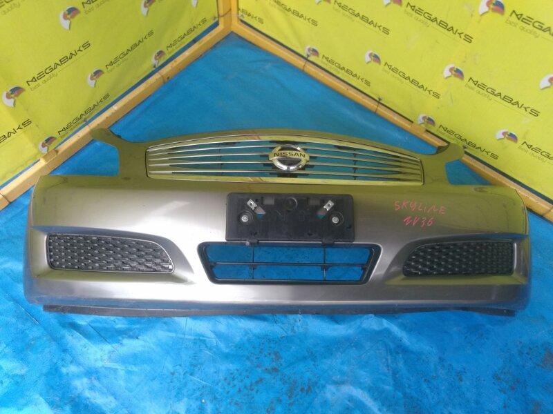 Бампер Nissan Skyline V36 передний I MODEL (б/у)