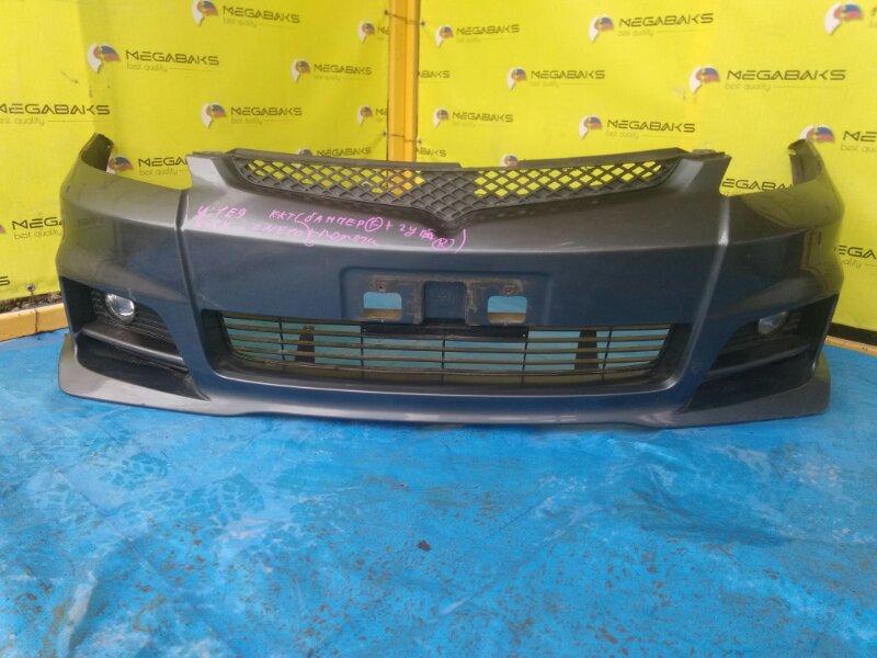 Бампер Toyota Wish ANE11W передний II MODEL (б/у)