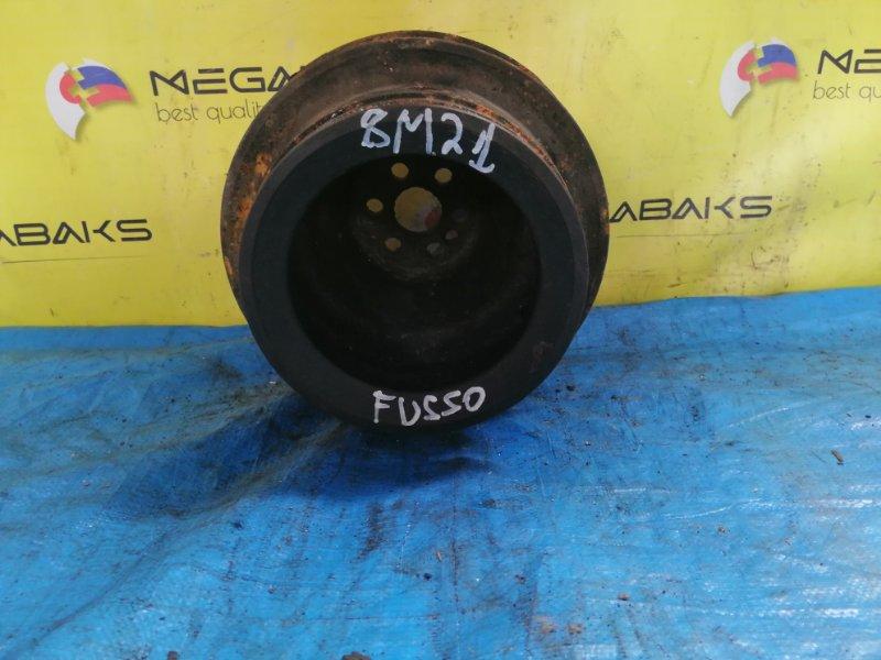 Шкив коленвала Mitsubishi Fuso MS822P 8M21 (б/у)