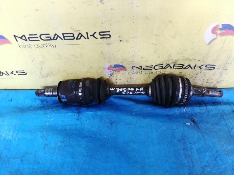 Привод Nissan Stagea WGNC34 RB25DET передний правый (б/у)