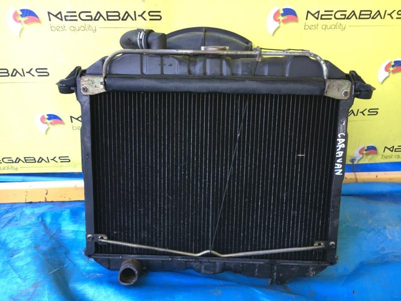 Радиатор основной Nissan Caravan ARME24 TD27 (б/у)