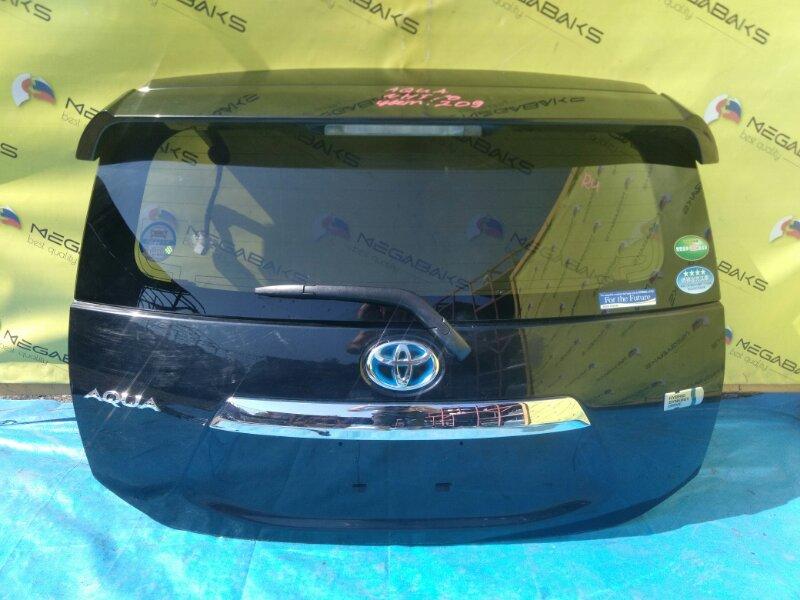 Дверь задняя Toyota Aqua NHP10 camera (б/у)