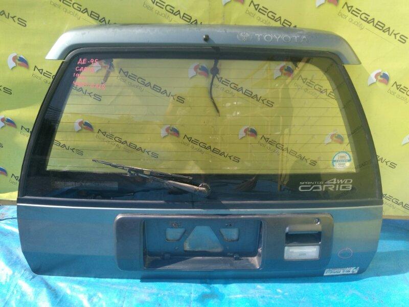 Дверь задняя Toyota Carib AE95 (б/у)