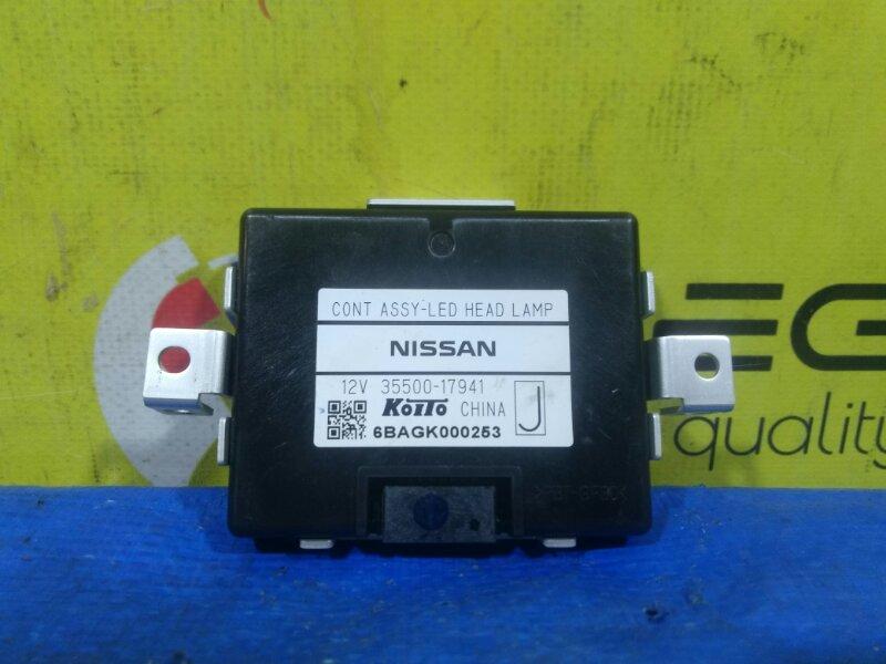 Блок ксенона Nissan X-Trail HNT32 MR20DD левый (б/у)