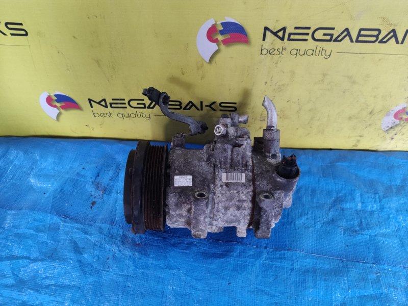 Компрессор кондиционера Toyota Isis ZGM11 3ZR-FAE 447260-1495 (б/у)