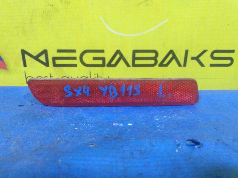 Катафот в бампер Suzuki Sx4 YA41S задний левый 35950-79J0 (б/у)
