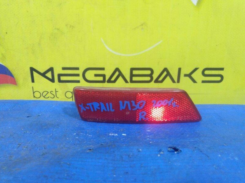 Катафот в бампер Nissan X-Trail T30 задний правый 7482 (б/у)