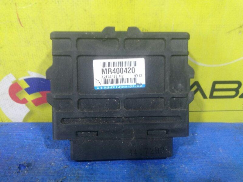 Блок управления abs Mitsubishi Pajero V75W MR400420 (б/у)