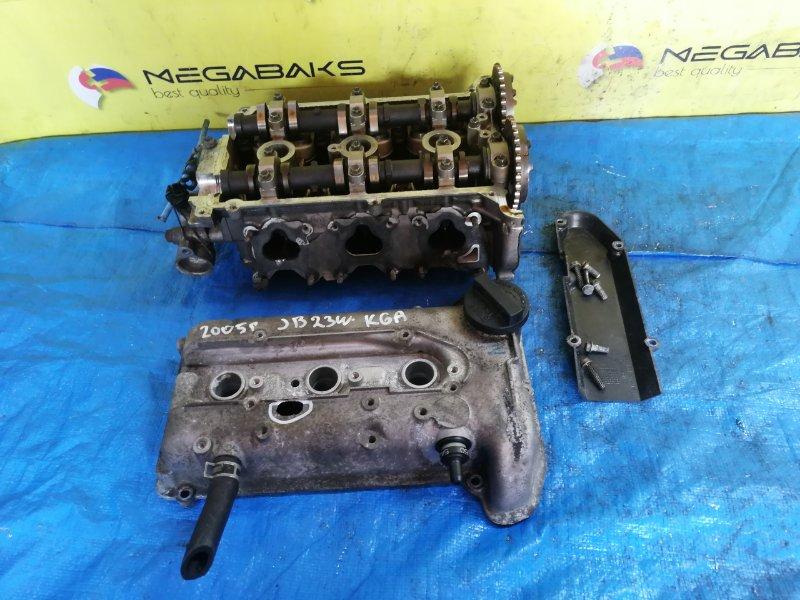 Головка блока цилиндров Suzuki Jimny JB23W K6A 2005 год (б/у)