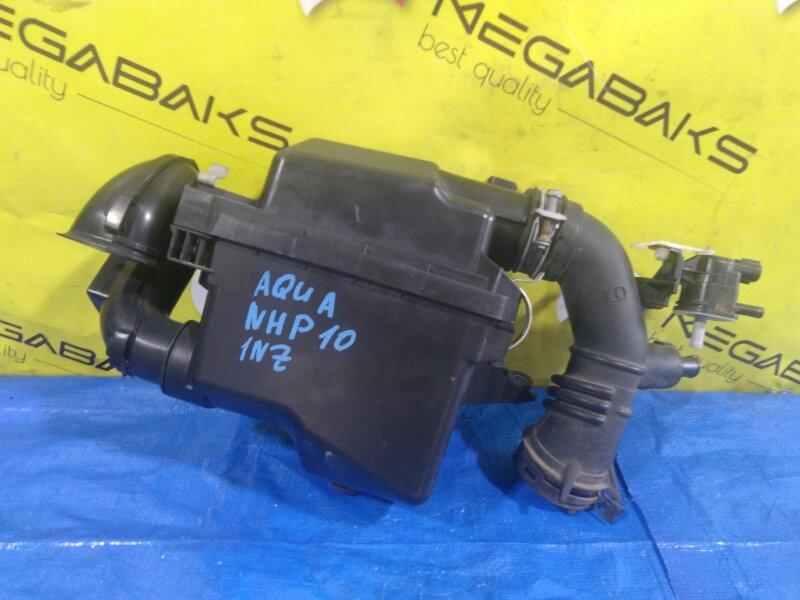 Корпус воздушного фильтра Toyota Aqua NHP10 1NZ-FXE +РАСХОДОМЕР (б/у)