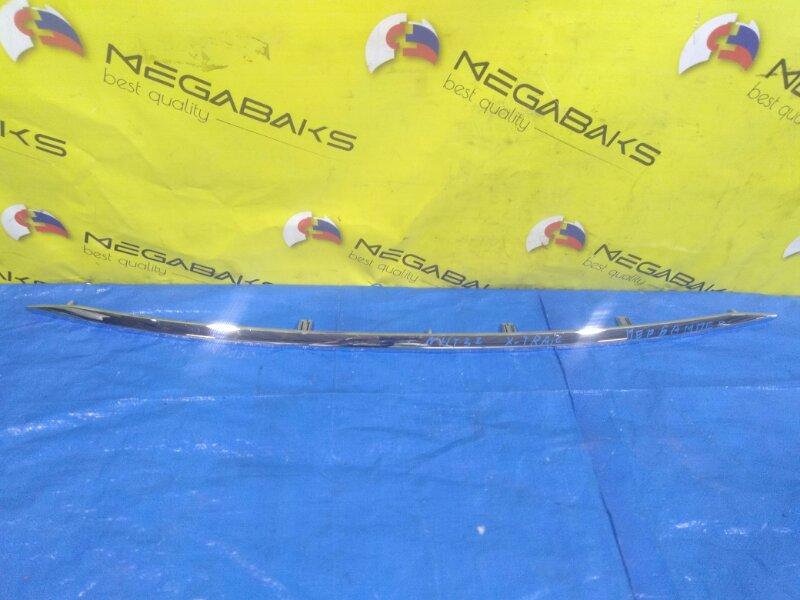 Накладка на бампер Nissan X-Trail HNT32 передняя (б/у)