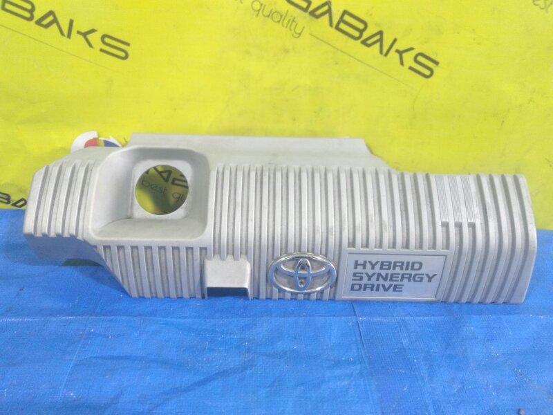 Крышка двс декоративная Toyota Prius Alpha ZVW40 2ZR-FXE 11221-37090 (б/у)