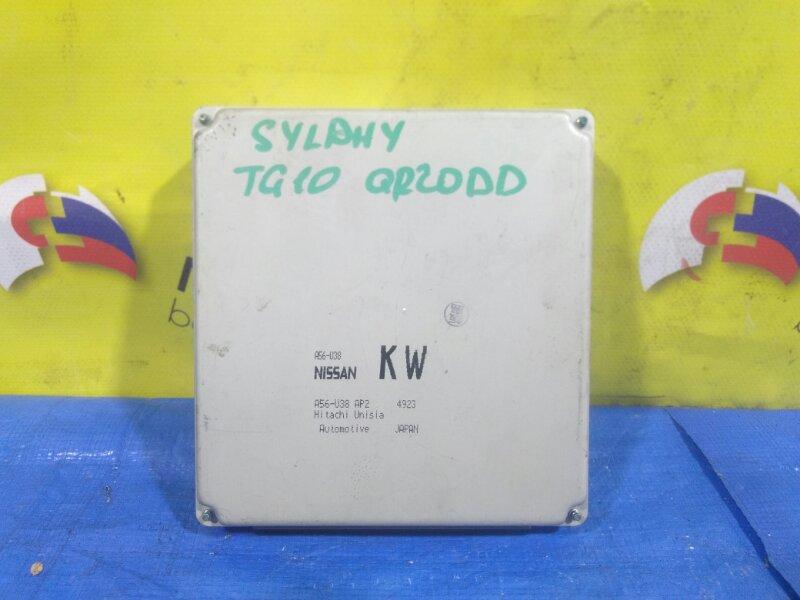 Блок efi Nissan Bluebird Sylphy TG10 QR20DD A56-U38 (б/у)