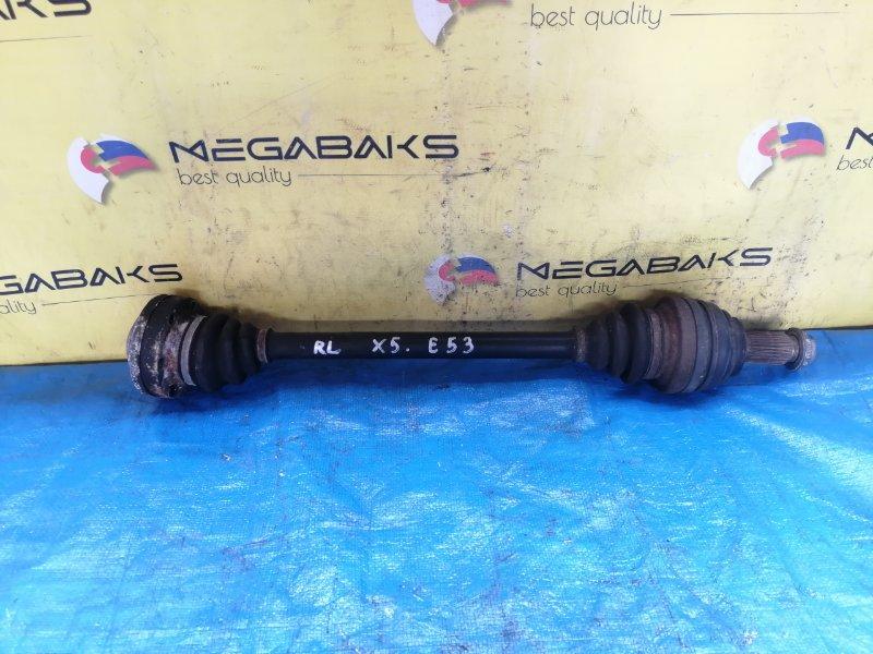 Привод Bmw X5 E53 M54B30 задний левый (б/у)