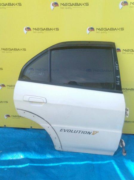 Дверь Mitsubishi Lancer Evolution CP9A задняя правая EVO5 (б/у)