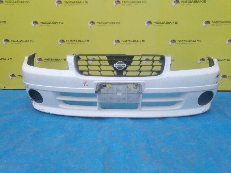 Бампер Nissan Expert VNW11 передний + решетка (б/у)