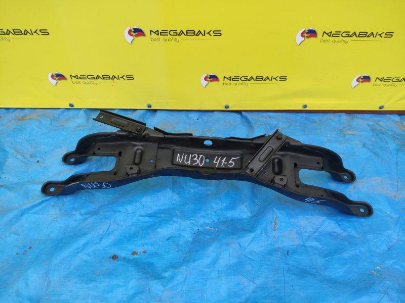 Балка подвески Nissan Presage NU30 KA24DE задняя (б/у)