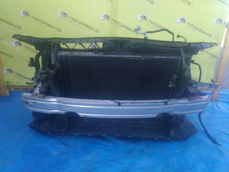 Защита бампера Audi A6 C7 2013 передняя (б/у)