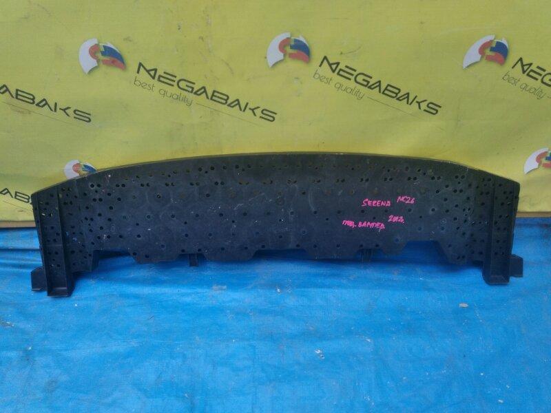 Защита бампера Nissan Serena NC26 MR20DD передняя 62663 1VA0A (б/у)