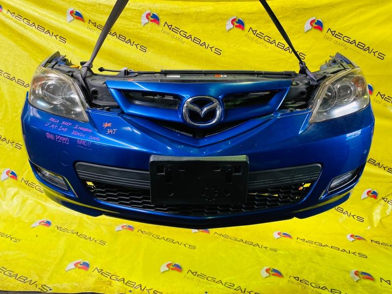 Nose cut Mazda Axela BKEP LF-VE 2007 P2952. ТУМАНКА P6243. (б/у)