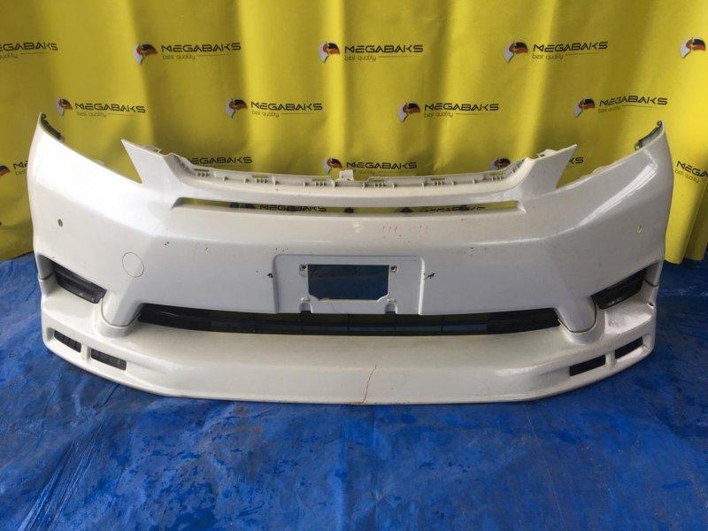 Бампер Toyota Vellfire ANH20 2AZ-FE передний I MODEL (б/у)
