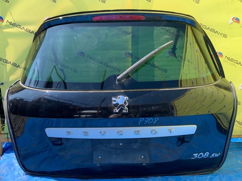 Дверь задняя Peugeot 308 T7 (б/у)