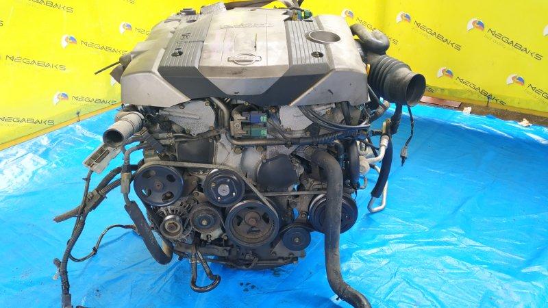 Двигатель Nissan Cedric HY34 VQ30DD 124703B (б/у)