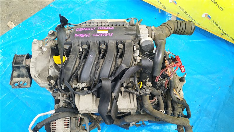 Двигатель Renault Megane Ii KM F4R771 2007 C097548 (б/у)