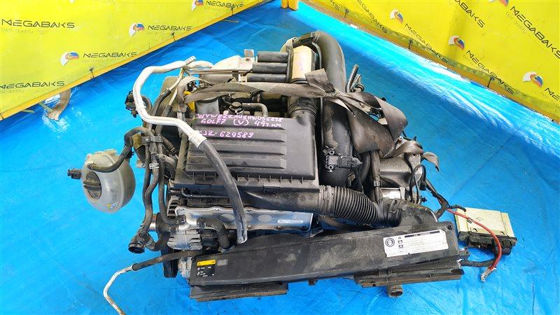 Двигатель Volkswagen Golf MK7 CJZ 2016 629589 (б/у)