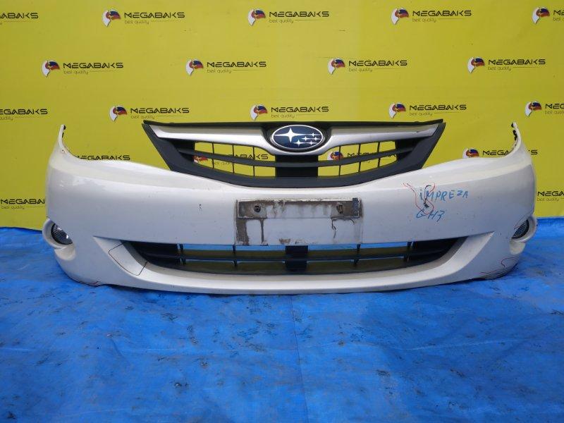Бампер Subaru Impreza GH2 передний (б/у)