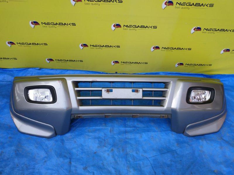 Бампер Mitsubishi Pajero V75W передний (б/у)