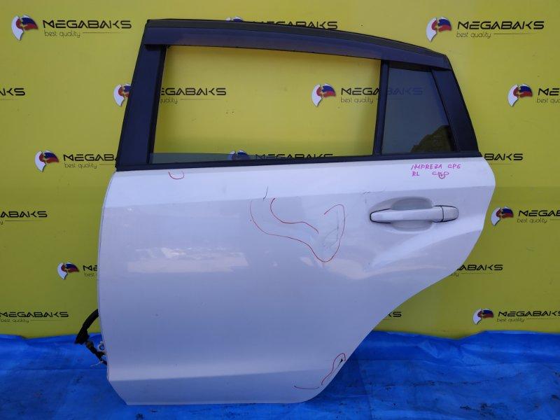 Дверь Subaru Impreza GP2 задняя левая (б/у)