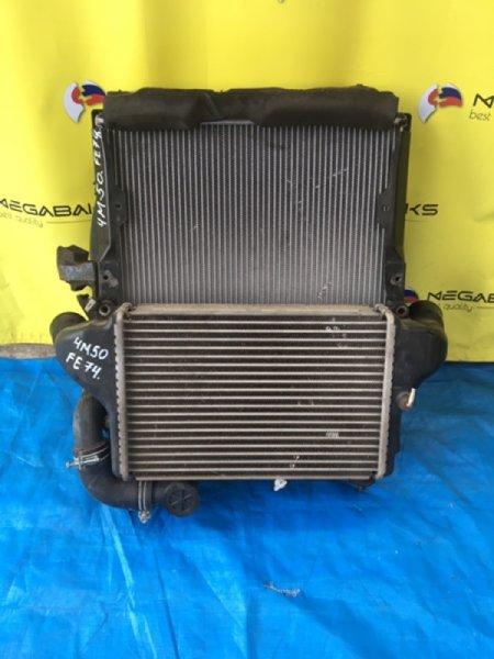 Радиатор интеркулера Mitsubishi Fuso FE74DV 4M50T (б/у)