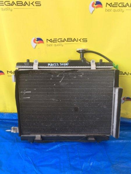 Радиатор кондиционера Suzuki Solio MA15S K12B (б/у)