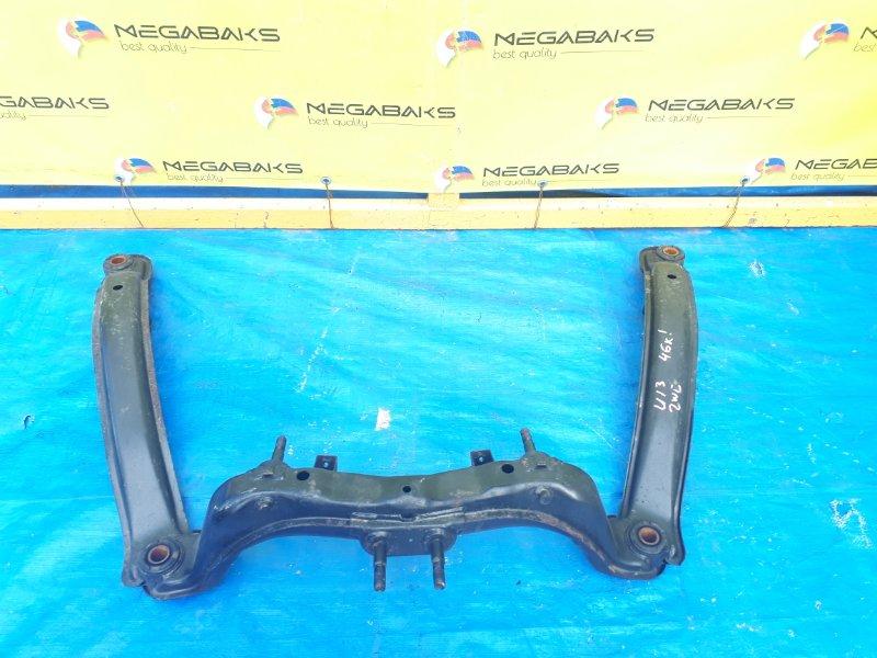 Балка подвески Nissan Bluebird U13 SR18DE задняя (б/у)