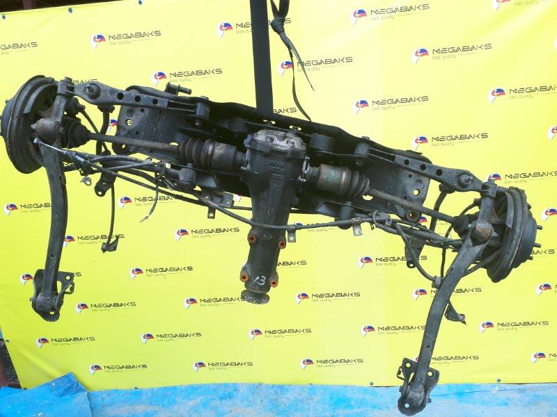 Балка подвески Subaru Legacy BF5 EJ20G задняя LSD 4.444 (б/у)