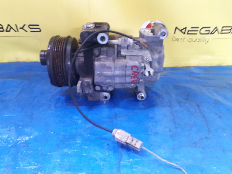 Компрессор кондиционера Mazda Premacy CREW LF (б/у)