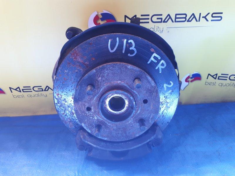 Ступица Nissan Bluebird U13 SR18DE передняя правая (б/у)