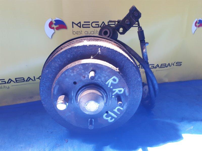 Ступица Nissan Bluebird U13 SR18DE задняя правая (б/у)