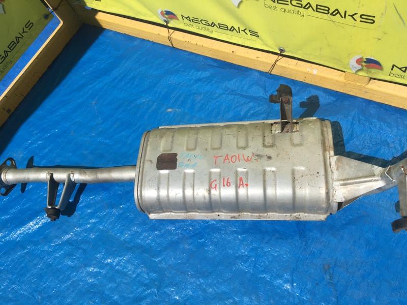 Глушитель Suzuki Escudo TA01W G16A (б/у)