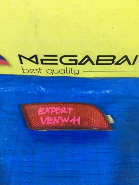 Катафот в бампер Nissan Expert W11 задний левый (б/у)