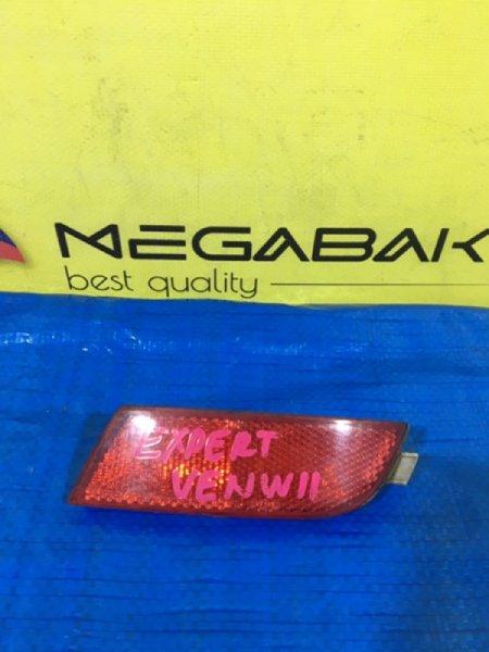 Катафот в бампер Nissan Expert W11 задний правый (б/у)