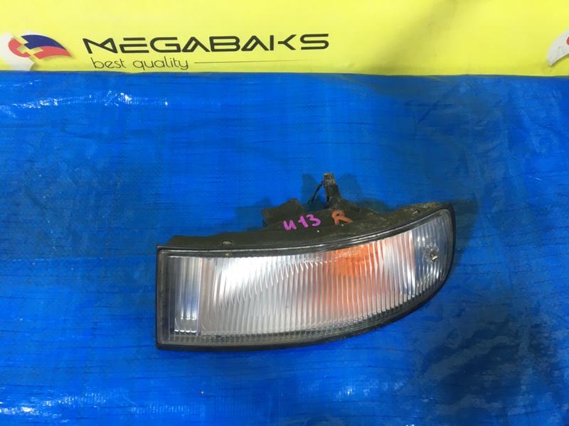 Повторитель бамперный Nissan Bluebird U13 правый 3363 (б/у)