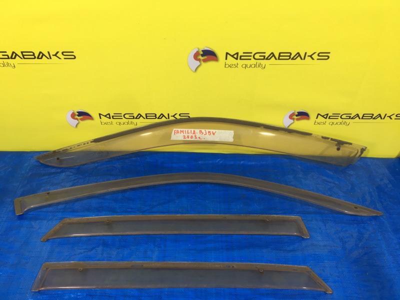 Ветровики комплект Mazda Familia BJ5W (б/у)
