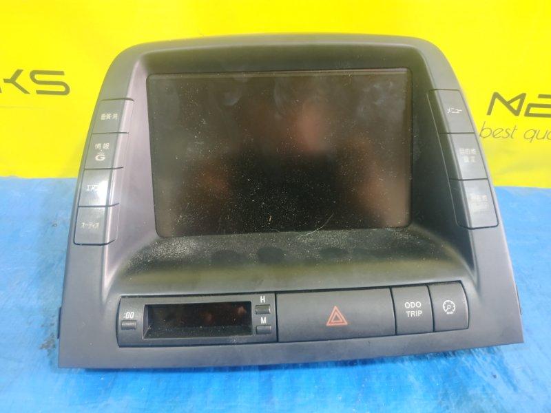 Монитор Toyota Prius NHW20 1NZ-FXE 86110-47200 (б/у)