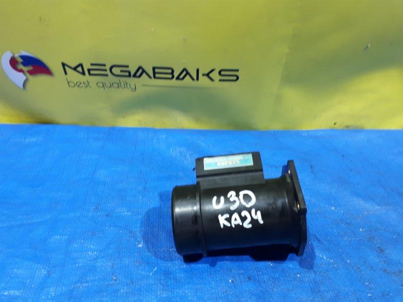 Расходомер воздушный Nissan Presage U30 KA24DE 22680-70F05 (б/у)