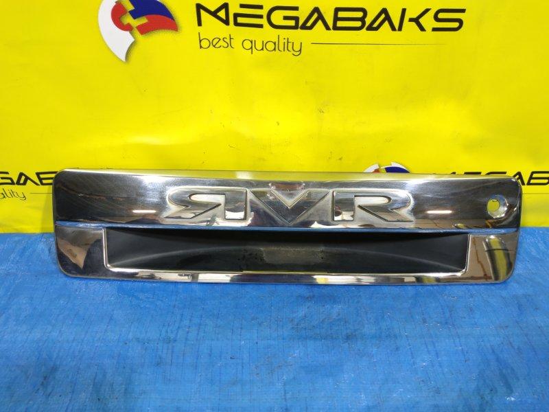Накладка 5-й двери Mitsubishi Rvr N61W (б/у)