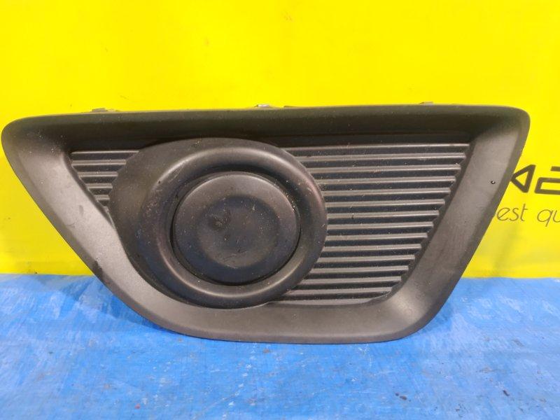Заглушка бампера Suzuki Solio MA36S левая 71761-81P0 (б/у)