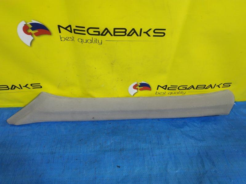 Пластик салона Mitsubishi Diamante F15A задний левый MB763372 (б/у)